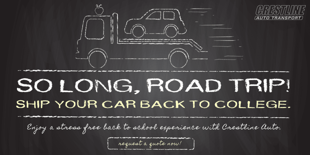 Ship Your Car Back to School