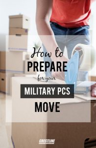 How to Prepare for your Military PCS Move - Crestline Auto Transport