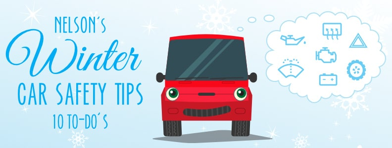 10 Winter Car Safety Tips from Nelson