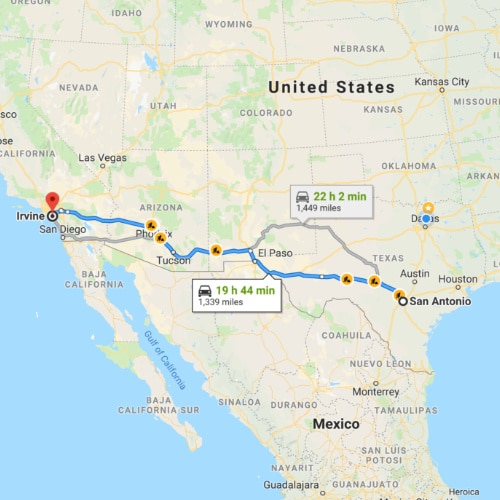 Ship A Car From Texas To California Under 800 Auto Transport Amtrak tickets to san antonio costs between usd 36.00 and usd 36.00 each seat. ship a car from texas to california