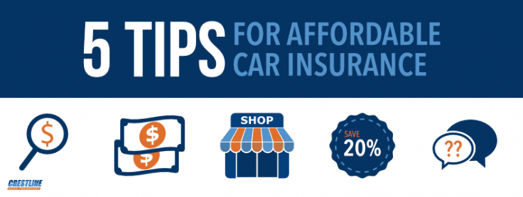 Affordable Auto Insurance >> Five Tips For Getting Affordable Auto Insurance Car Insurance